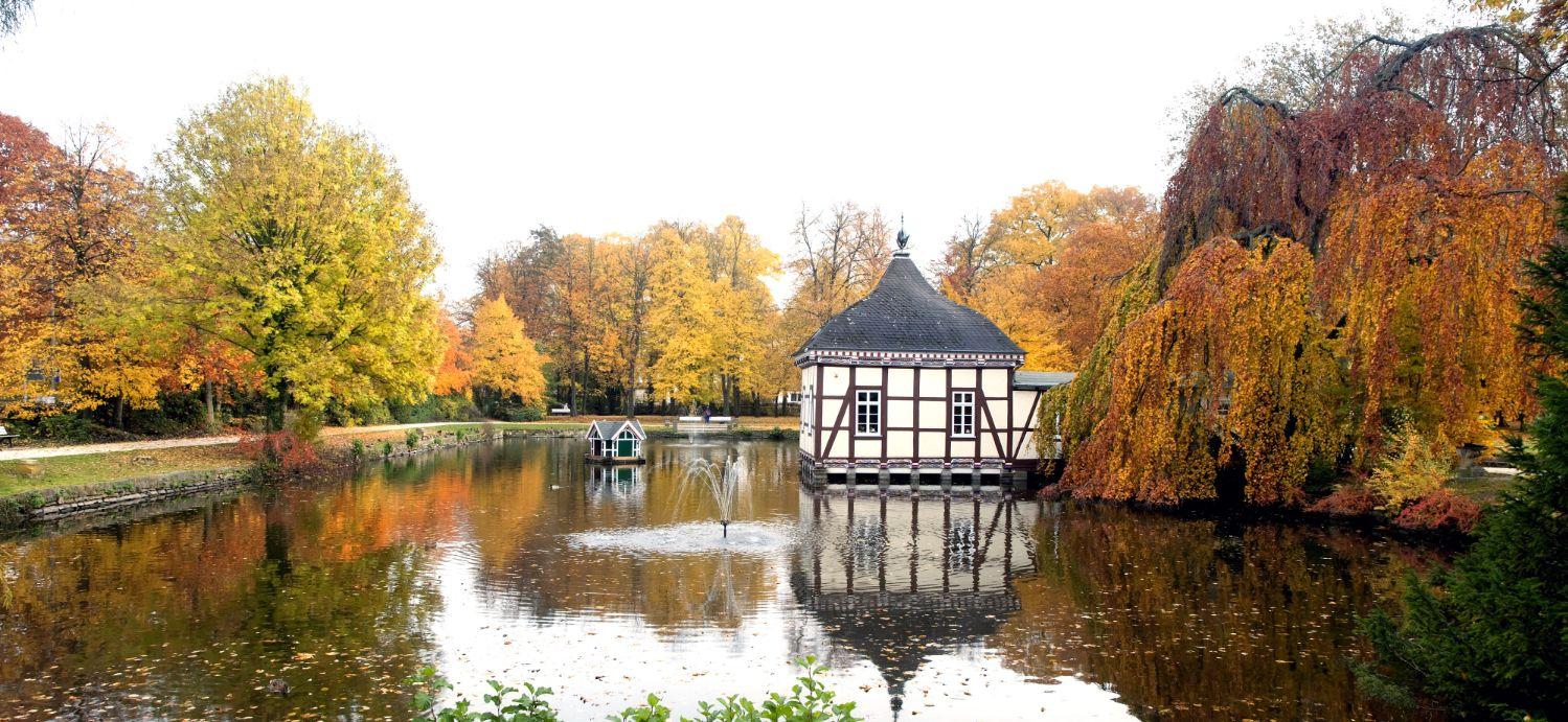 7039D Schlossgarten  Stadthagen