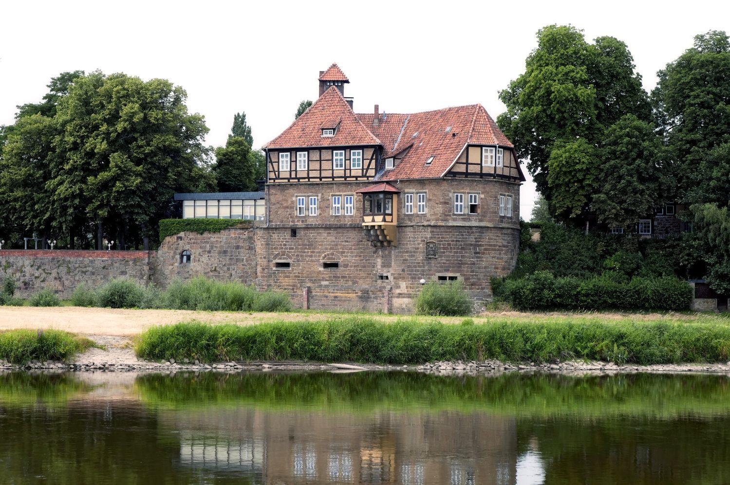 3594E Schloss Petershagen kop