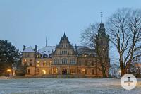 Palais im Winter
